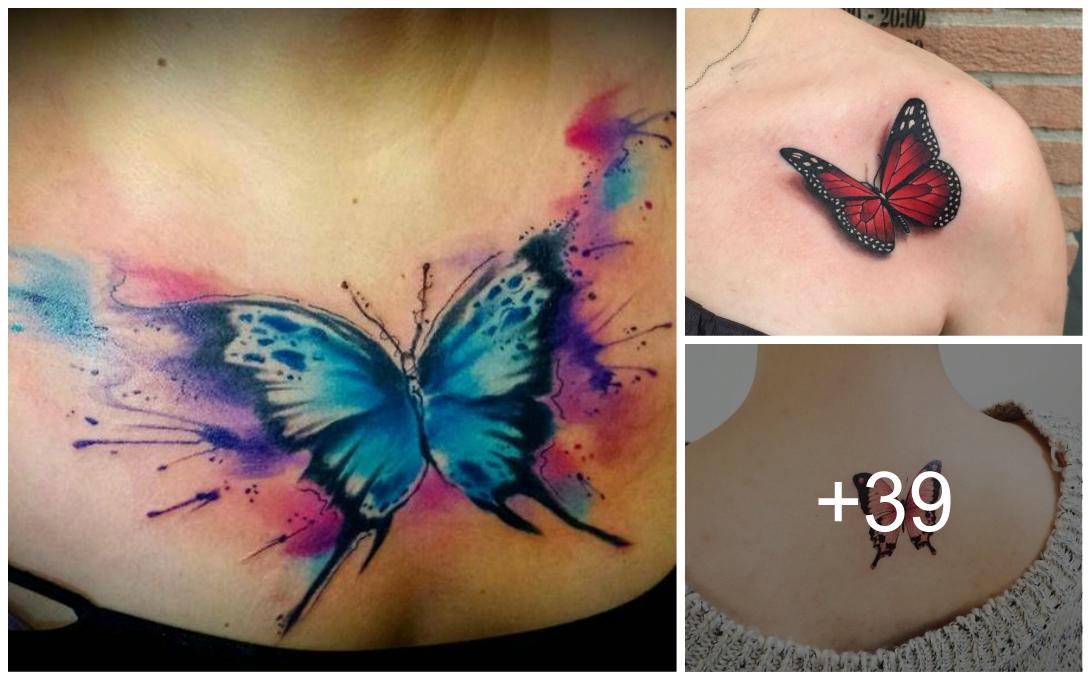 Imagenes De Tatuajes De Mariposas Tatuajes Para Mujeres Y Hombres