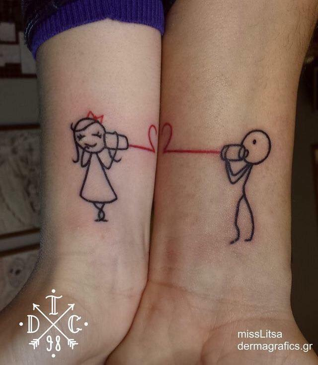 imágenes de tatuajes para parejas y sus significado - tatuajes
