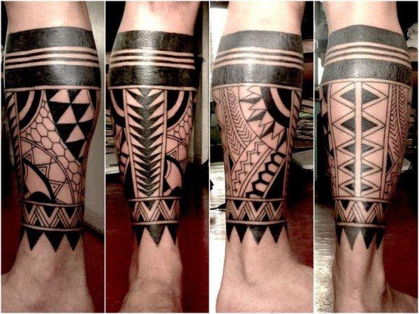 tatuajes tribales para las piernas Imagenes de Tatuajes Tribales
