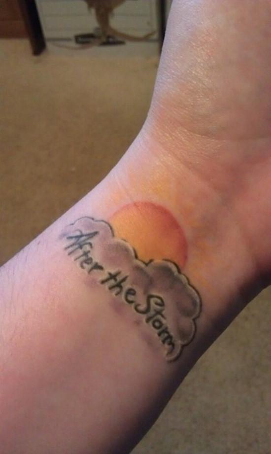 Imagenes de Tatuajes de Nubes 17 Ideas de Tatuajes de Nubes y su Significado