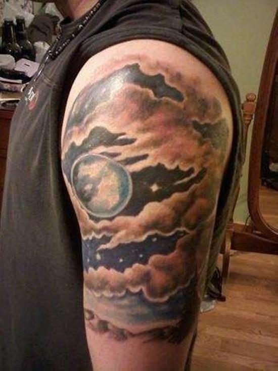 Imagenes de Tatuajes de Nubes 32 Ideas de Tatuajes de Nubes y su Significado