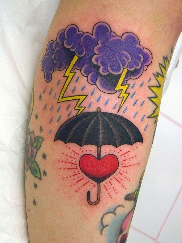 Imagenes de Tatuajes de Nubes 34 Ideas de Tatuajes de Nubes y su Significado