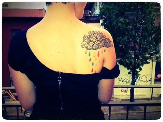 Imagenes de Tatuajes de Nubes 51 Ideas de Tatuajes de Nubes y su Significado