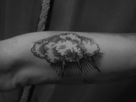 Imagenes de Tatuajes de Nubes 52 Ideas de Tatuajes de Nubes y su Significado