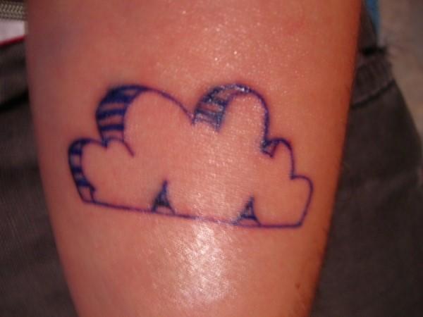 Imagenes de Tatuajes de Nubes 53 Ideas de Tatuajes de Nubes y su Significado