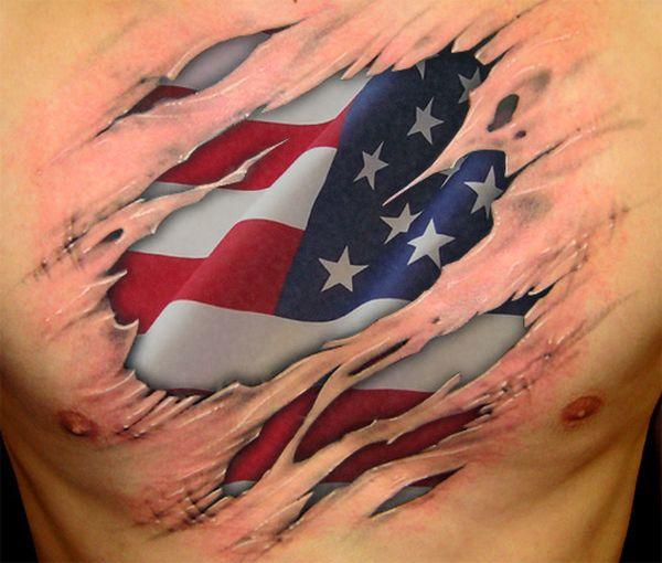 Tatuajes de Banderas