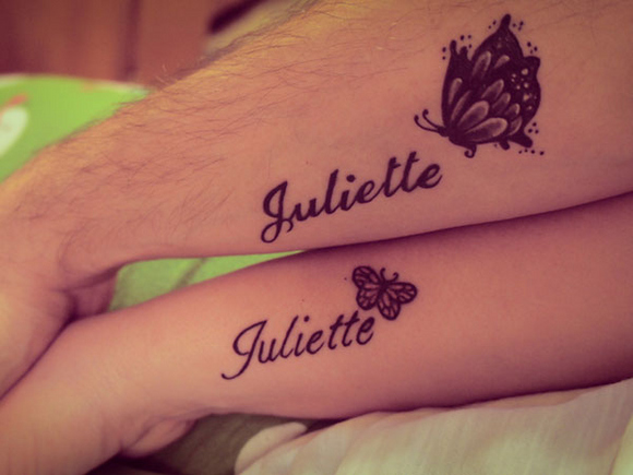 imagen de tatuajes de nombres Tatuajes de Nombres