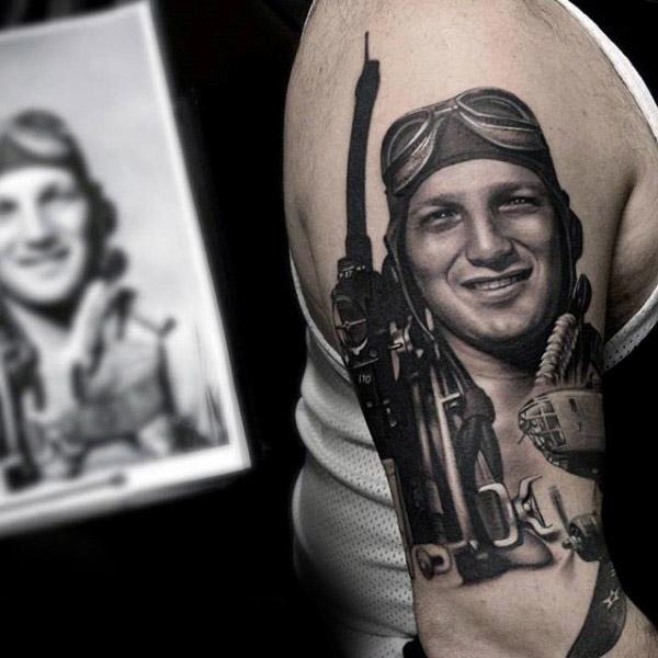 imagenes de tatuajes conmemorativos 16 Tatuajes Conmemorativos
