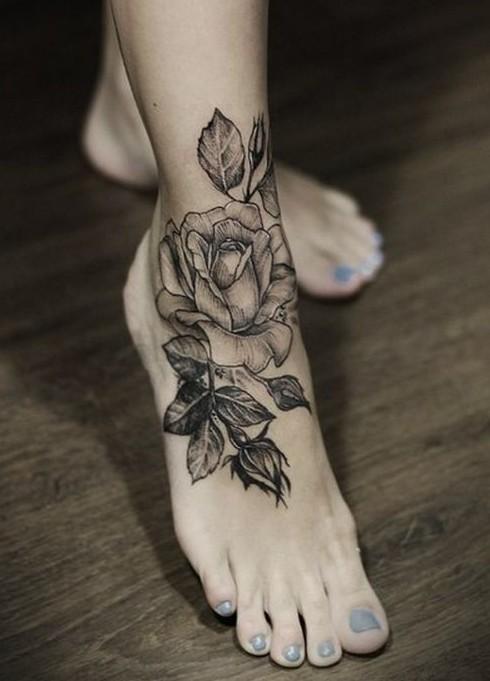 Tatuajes de Flores o Rosas