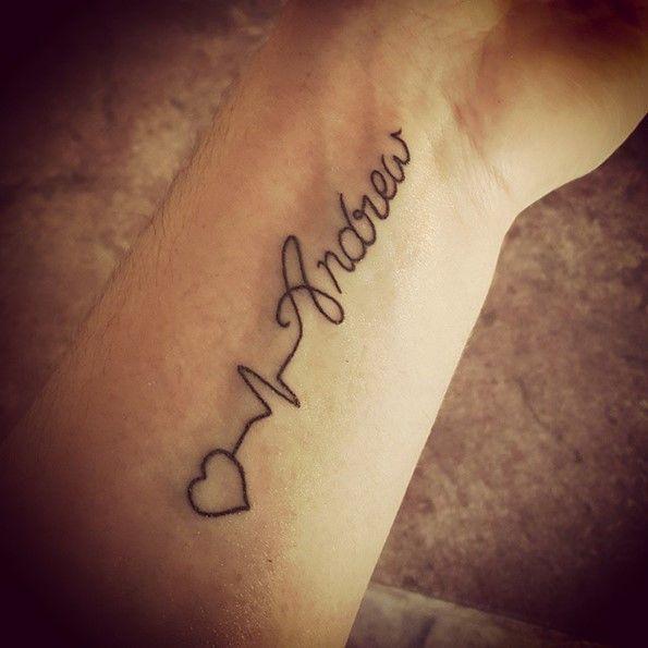 los mejores tatuajes de nombres Tatuajes de Nombres