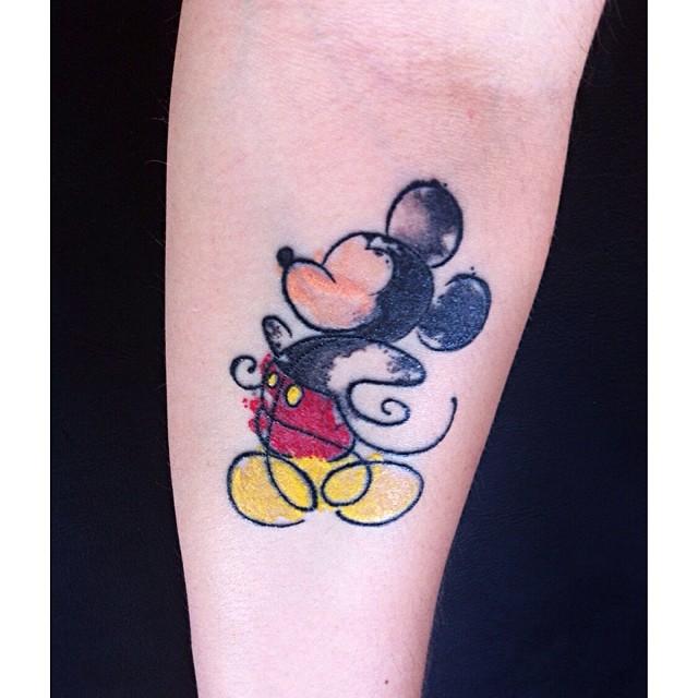 40 Increibles Diseños de Tatuajes Inspirados en Disney