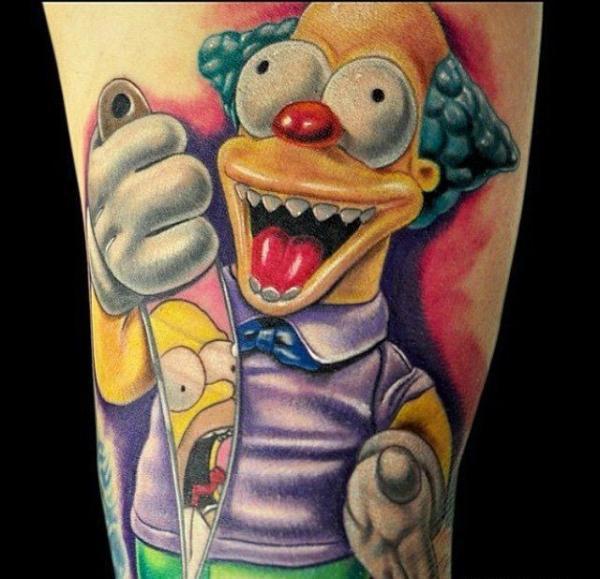 Los 30 Mejores Tatuajes de Los Simpson