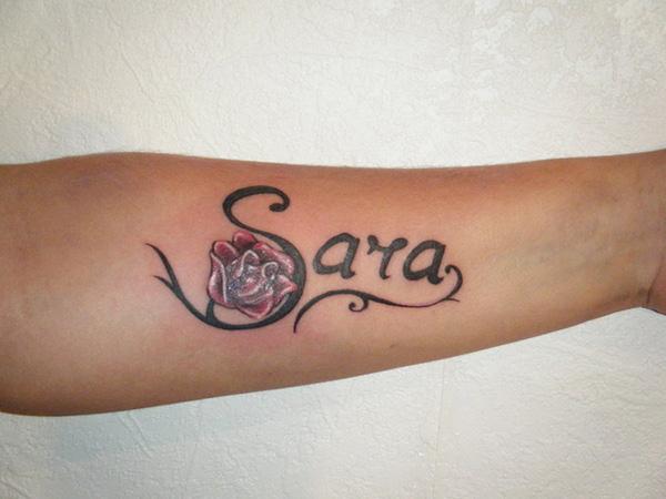 tatuaje de nombre de mujer Tatuajes de Nombres