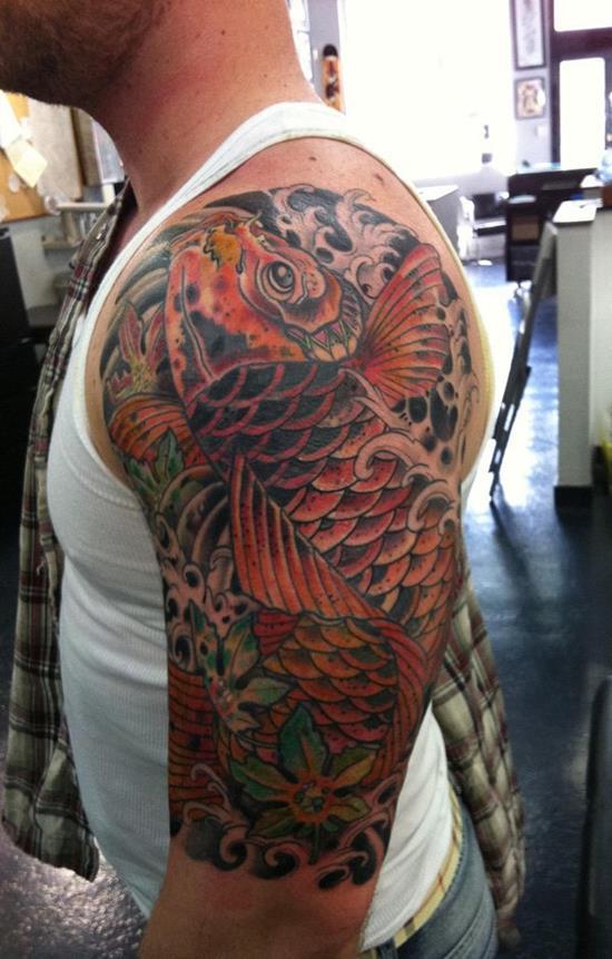Diseños De Tatuajes De Peces Koi Y Sus Significados Tatuajes Para