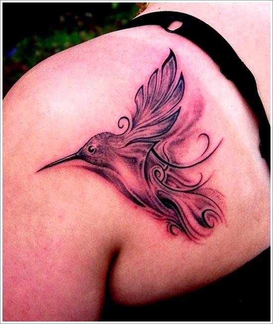 Increibles Tatuajes de Colibrí y sus Significados