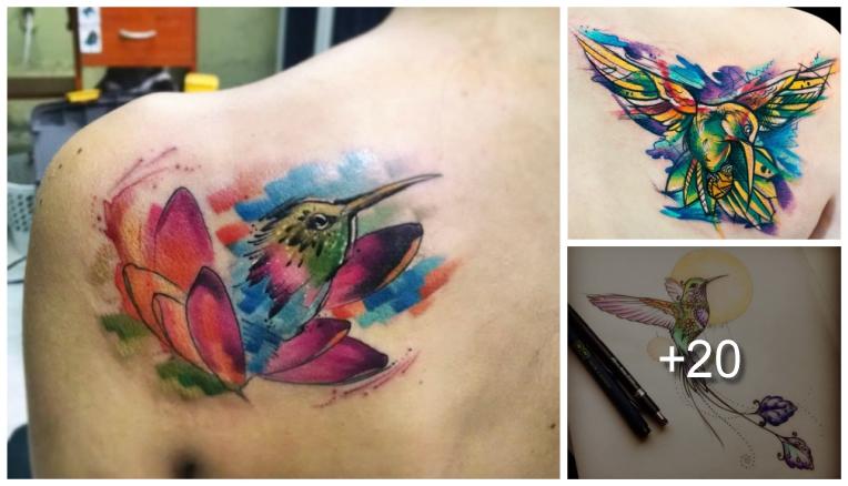 Increibles Tatuajes De Colibrí Y Sus Significados Tatuajes Para