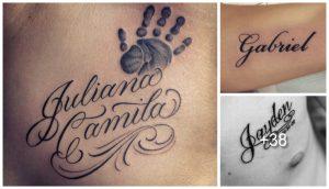 Tatuajes de Nombres Los Mejores Diseños