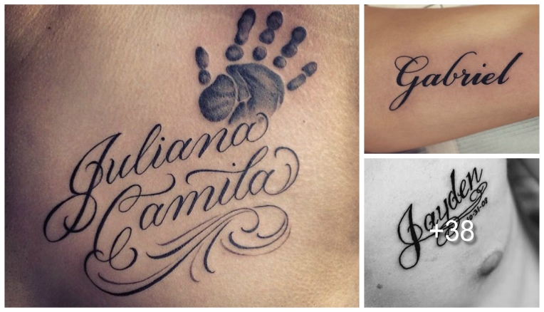 Tatuajes De Nombres Los Mejores Diseños Tatuajes Para Mujeres Y