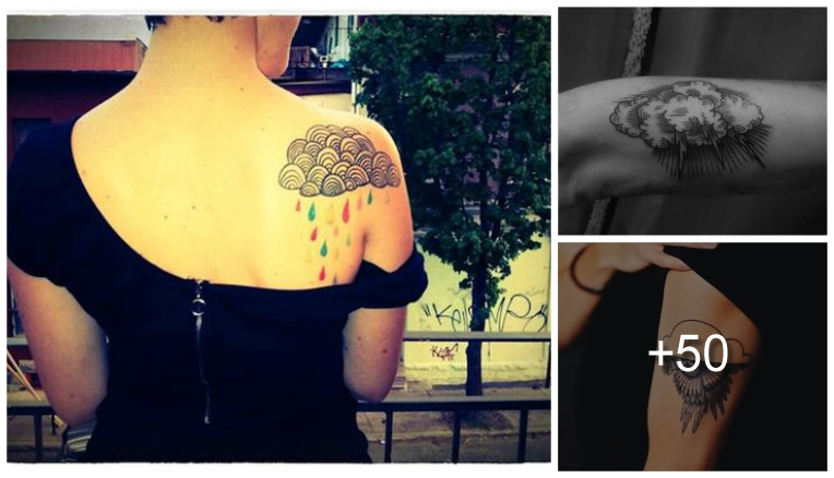Tatuajes de Nubes