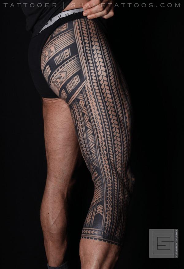 Diseos del Tatuaje Samoano mas Populares y Sus Significados