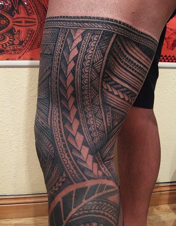Diseños del Tatuaje Samoano mas Populares y Sus Significados
