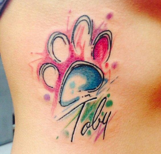 30 Hermosos Y Conmovedores Tatuajes De Mascotas Tatuajes Para