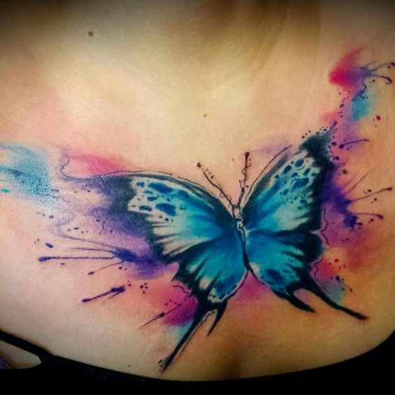 imagenes de tatuajes de mariposas tatuajes para mujeres. Black Bedroom Furniture Sets. Home Design Ideas