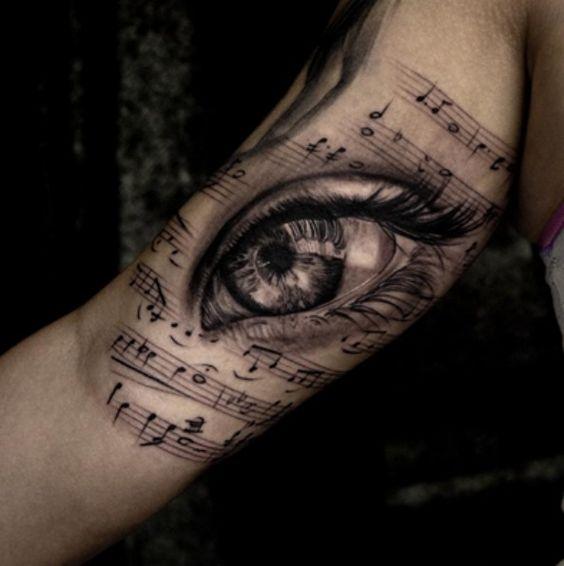 Diseños y Plantillas de Tatuajes para amantes de la Música
