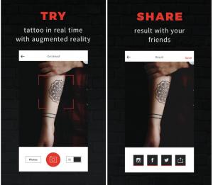 Aplicacion Para Ver el Resultado Final de un Tatuaje