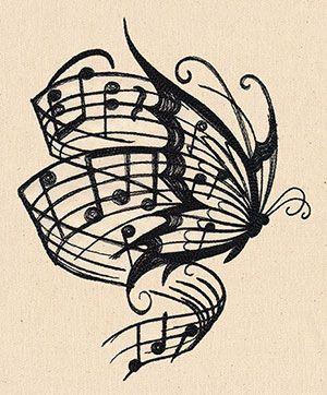 Diseños y Plantillas de Tatuajes para amantes de la Música ...