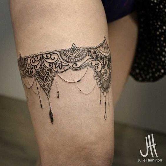 Los Mejores Diseños De Tatuajes De Mujer En La Pierna Tatuajes