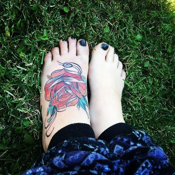 Increibles Tatuajes en los Pies para Mujeres y Hombres