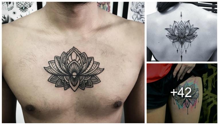 Elegantes Tatuajes De Flor De Loto Y Sus Significados Tatuajes