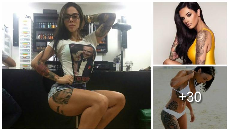 Colección De Las Mujeres Con Tatuajes Mas Sexis Fotografias