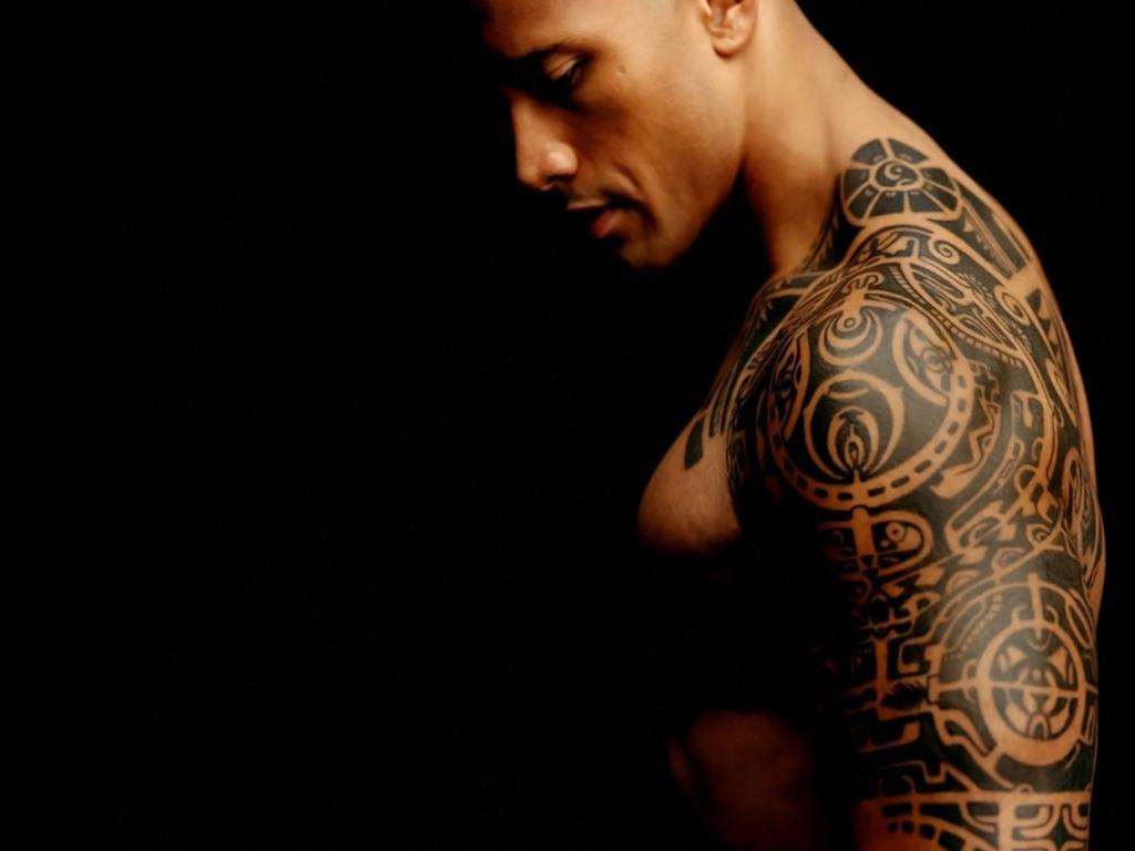 Tatuaje Dwayne Johnson