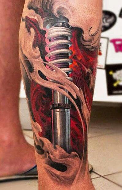22 Asombrosos Tatuajes Biomecánicos