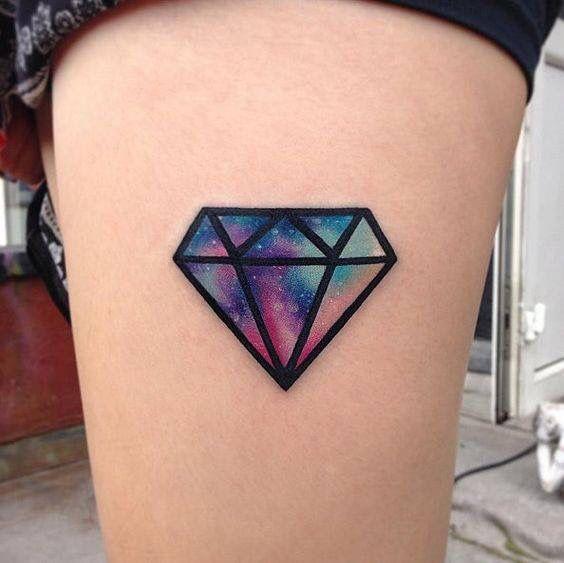 14 Increibles Diseños De Tatuajes De Diamantes Tatuajes Para