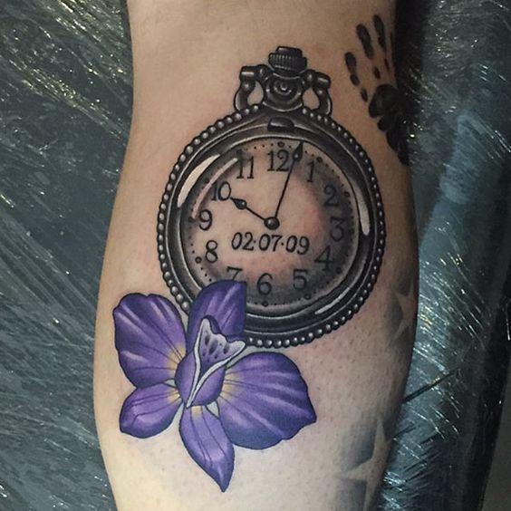 Tatuajes De Relojes De Bolsillo Los Mejores Diseños Tatuajes