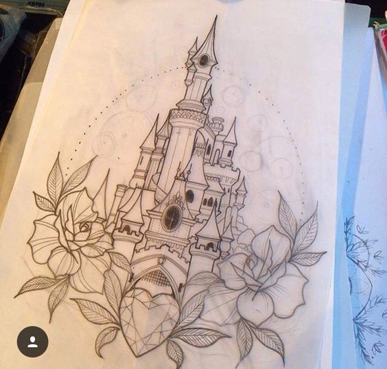 Tatuajes de Castillos