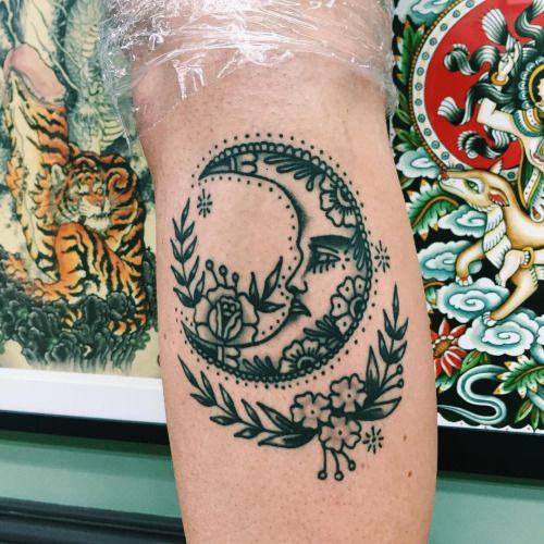 Tatuajes de Lunas y Fases Lunares