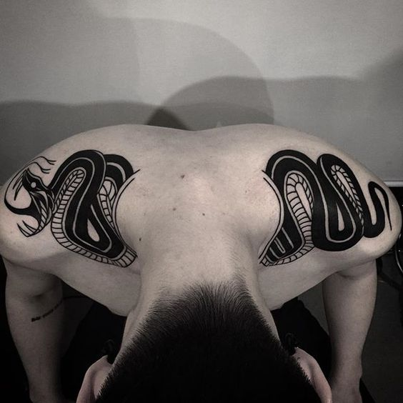tatuajes de serpientes 15 Tatuajes de Serpientes