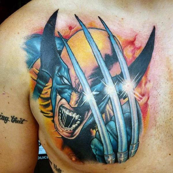 Tatuajes de Wolverine