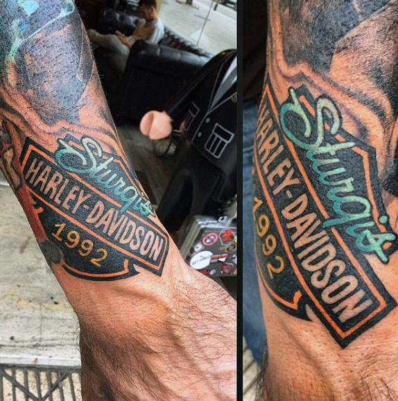 Mas de 80 Tatuajes Harley Davidson para Motociclistas