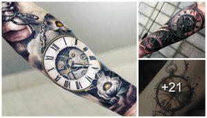 Tatuajes de Relojes de Bolsillo – Los Mejores Diseños