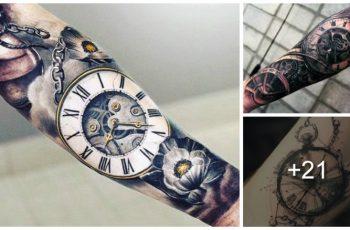 Tatuajes de Relojes de Bolsillo