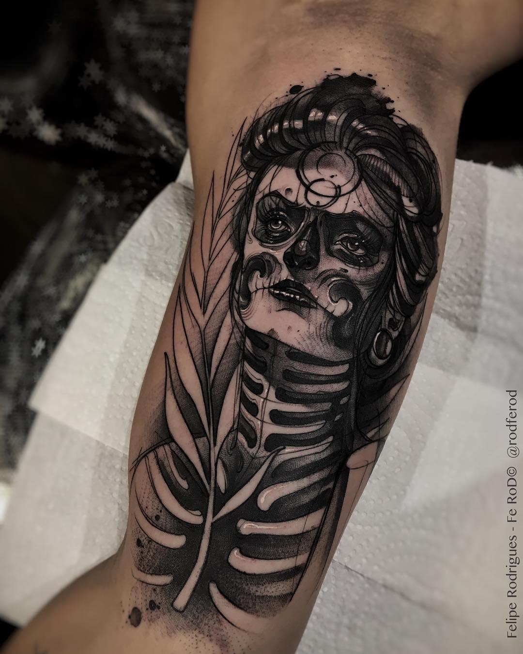 Galeria de Tatuajes del Artista Felipe Rodríguez
