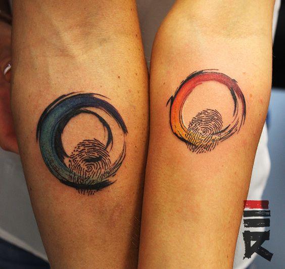 Tatuajes de Huella Digital 15 Tatuajes en Forma de de Huella Digital