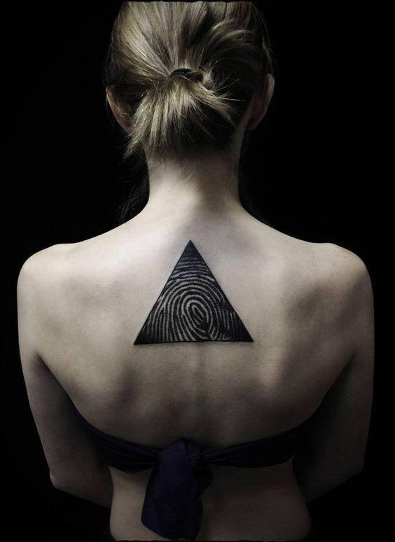 Tatuajes de Huella Digital 17 Tatuajes en Forma de de Huella Digital
