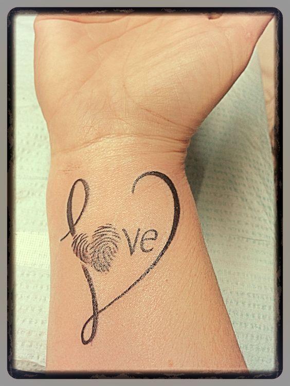Tatuajes de Huella Digital 18 Tatuajes en Forma de de Huella Digital