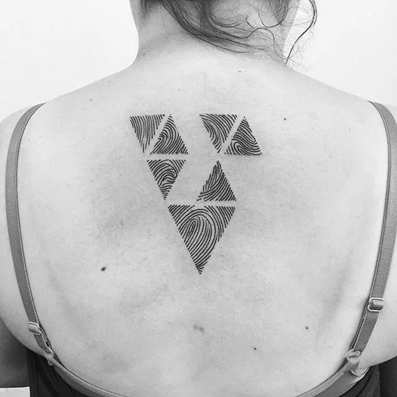 Tatuajes de Huella Digital 3 Tatuajes en Forma de de Huella Digital